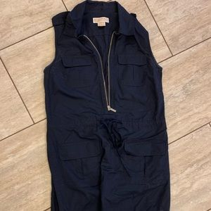 Michael Kors Utility-style navy dress size M
